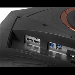 "ASUS ROG Swift PG27VQ WQHD Curved VA Monitor G-Sync 165Hz 27"""