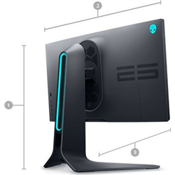 """DELL AW2521HF Alienware IPS Gaming Monitor FullHD 1ms 240Hz HDR400 24.5"""""""
