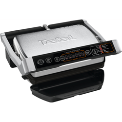 TEFAL GC706D34 OptiGrill+ 2000 Watt Inox/Black