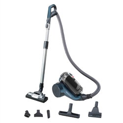 HOOVER RC60 PET011 Cyclonic Pet Care Bagless Σκούπα Blue-Black A++