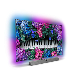 """PHILIPS 55OLED935/12 Ambilight OLED UHD Android Smart TV 55"""" Dolby Atmos, Sound B&W"""