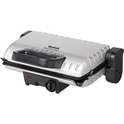 TEFAL Minute Grill GC2050 1600 Watt Silver